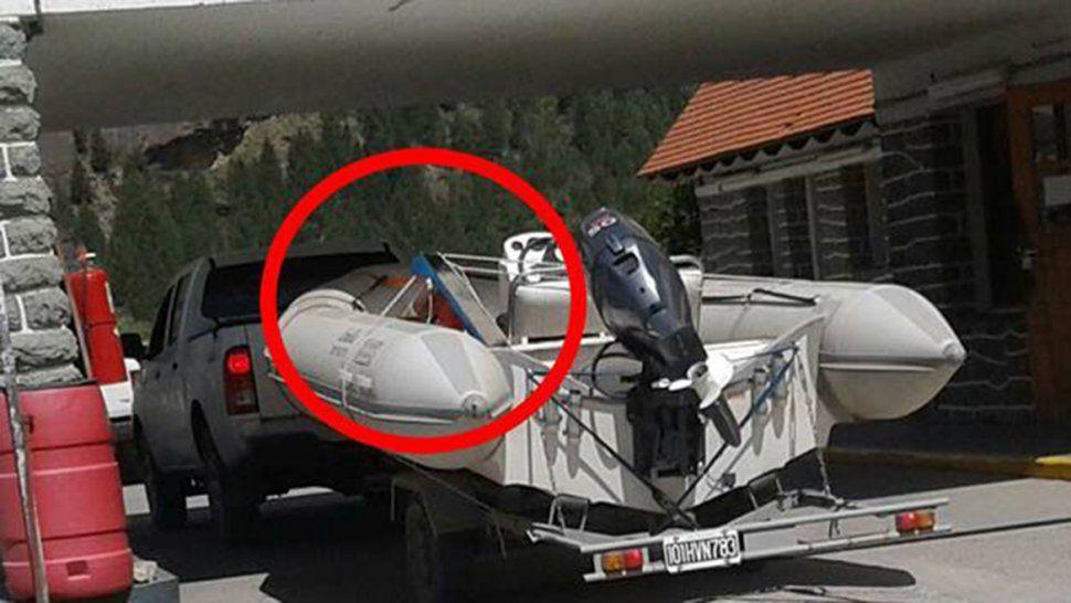 Insólito: denuncian que turistas se robaron un tobogán de la plaza de Villa Traful