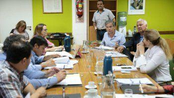 Monzani explicó a los concejales cómo será la histórica inversión
