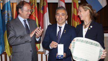 Una distinción de honor de España para Neuquén