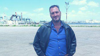 Luis Tagliapietra,padre del tripulante Alejandro Damian.