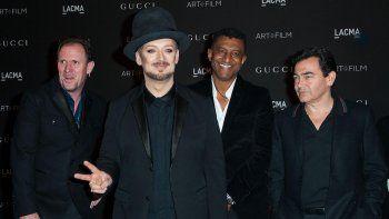 Culture Club hizo furor con su música pop en la década del 80.