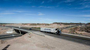 El nuevo puente sobre la Ruta 7 conecta de manera directa con la Autovía Norte en pocos minutos.