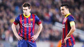 Xavi contó cómo fue su primer entrenamiento junto a Messi