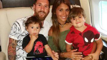 Messi y Antonela revelaron el nombre de su tercer hijo