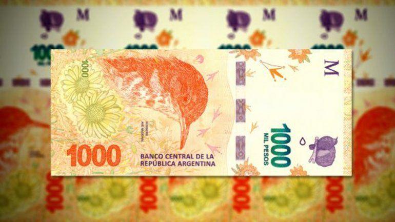 Resultado de imagen para billetes de 1000 pesos argentina