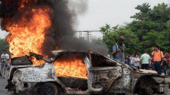 Denuncia de fraude electoral desata la violencia en las calles