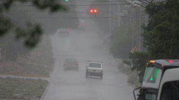 emiten alerta por tormentas fuertes para el centro y norte