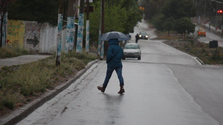 Hasta el Día de la Madre, lluvia y más lluvia