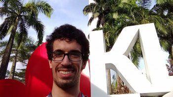 Federico Loker estudió en la EPET 11 de Zapala y luego se fue a Entre Ríos.