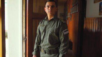 Emmanuel Echazú, uno de los primeros gendarmes investigados.