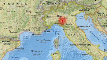 Un sismo sacudió el centro de Italia y no hubo víctimas