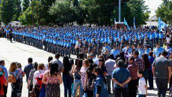 La Policía sumó 300 nuevos efectivos para toda la provincia
