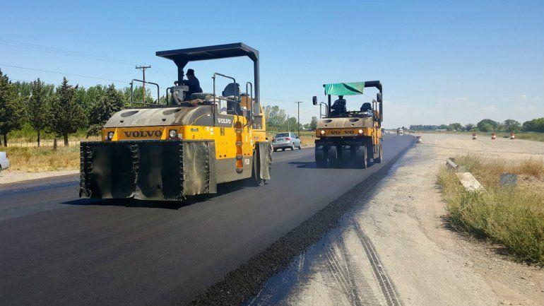 Reducirán a media calzada el tránsito sobre la Ruta 22 entre Arroyito y Zapala