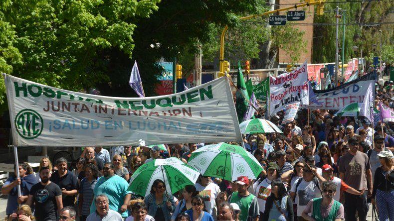 Gutiérrez confirmó que se firmó con ATE Salud el convenio colectivo