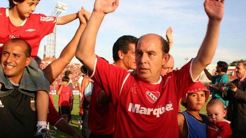 El Bocha ganó cinco Libertadores con Independiente.