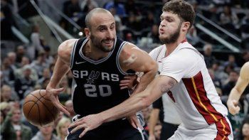 no alcanzo: manu se quedo  afuera del all-star game