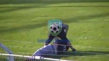 La liga de Comodoro terminó con una brutal batalla campal entre hinchas en el campo de juego