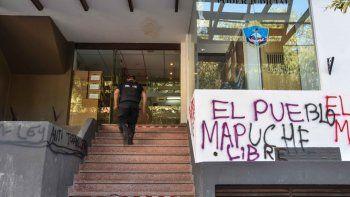 La acusación a los estafadores se realizó en la sede judicial de Yrigoyen.