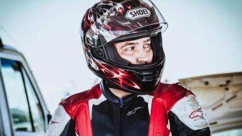 El casco que le robaron a Martín Gessler está valuado en 17 mil pesos.