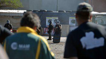 la justicia analiza las filmaciones del desalojo de la maderera