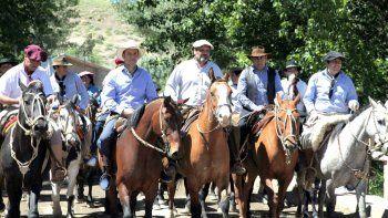 Gutiérrez participó de la Fiesta de la Lana y la Cueca en Las Ovejas