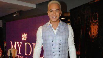 Flavio ya lanzó su perfume, que lleva el nombre de My Dio.