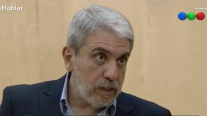 Aníbal Fernández estalló contra La Cámpora y Duhalde