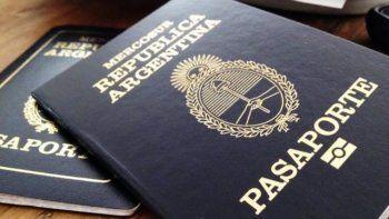 modificaron la validez de los pasaportes para menores de edad