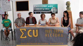 UNCo: Se presentó otra lista para las elecciones para rectorado