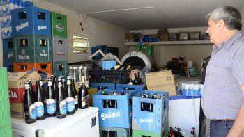 Sigue la caza de venta clandestina: secuestran 150 litros de alcohol