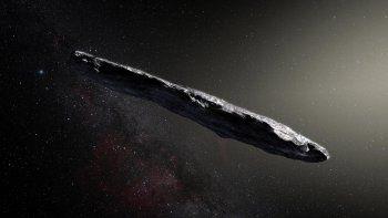 El cuerpo llegó a nosotros después de, tal vez, un viaje de millones de años procedente de otro Sistema Solar.