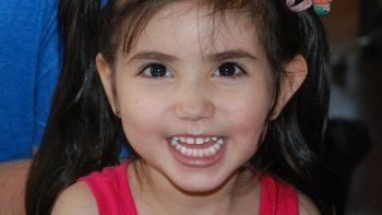 Los padres de Bianca Quiroga, la niña de 4 años de Plottier, deben reunir el dinero antes del 10 de enero de 2018.