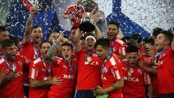 Independiente, flamante ganador de la Sudamericana en el mismísimo Maracaná, quiere volver a mandar.