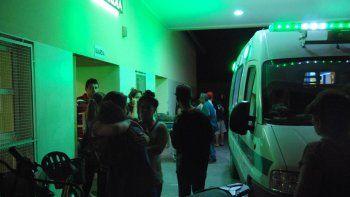 En el hospital hubo tensión cuando se informó la muerte del joven.