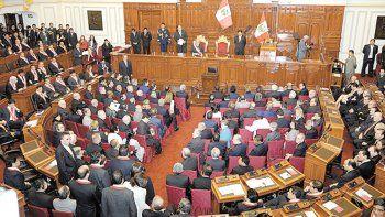 Al presidente peruano se lo juzga por incapacidad moral.