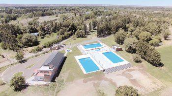 El complejo de UPCN en La Herradura tiene seis hectáreas y este año invirtieron en alojamiento.