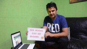 Toto González hizo un video en internet para generar conciencia.