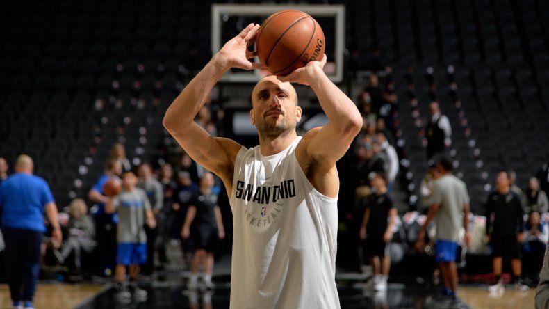 San Antonio retira la camiseta de Manu Ginóbili