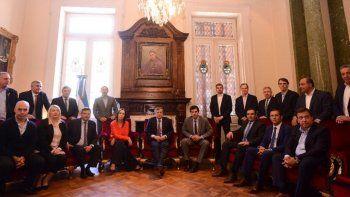 Trece gobernadores apoyaron la reforma previsional