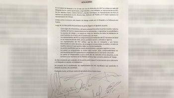 Cuáles son los puntos del acuerdo Gobierno-ATE