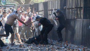 Tensa calma: los incidentes dejaron heridos y destrozos