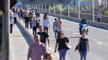 Beneficiarios de planes sociales liberaron el tránsito luego de cinco horas de piquetes