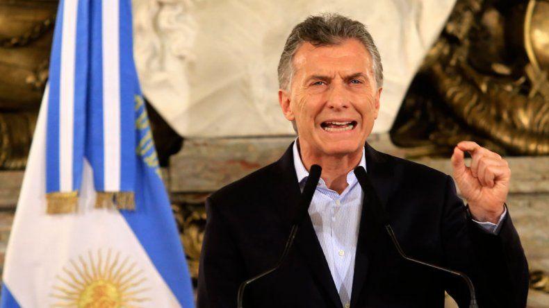 Por decreto, Macri eliminó las listas colectoras y las candidaturas múltiples