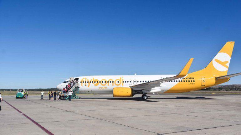 Dan vía libre a las operaciones de los vuelos low cost en El Palomar