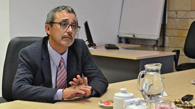 El fiscal Marcelo Jara, a cargo de las investigaciones del ex director de Transporte, Luis Monsalve.