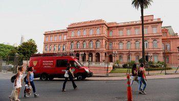 Descartaron amenaza de bomba en Casa Rosada