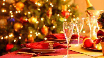¿La cena de Nochebuena adentro o en el patio?