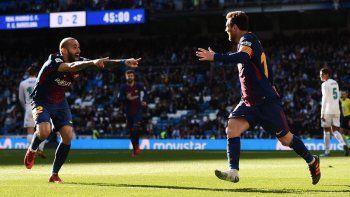 Barcelona y Messi vapulearon al Real Madrid en el Bernabéu