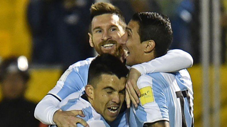 Acuña le cumplió el sueño a toda una provincia futbolera