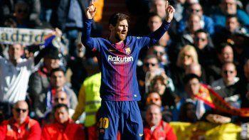Messi fue clave en el partido con un gol y una asistencia para los blaugranas.
